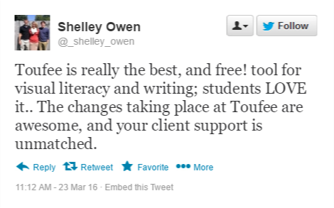 Shelley Owen Tweet