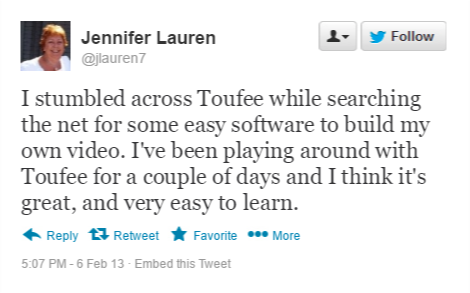 Jennifer lauren Tweet